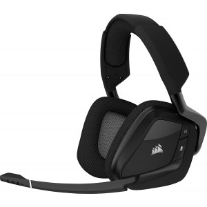 Corsair VOID PRO RGB Wireless Premium Gaming Headset with Dolby® Headphone 7.1 — Carbon / White (AP)