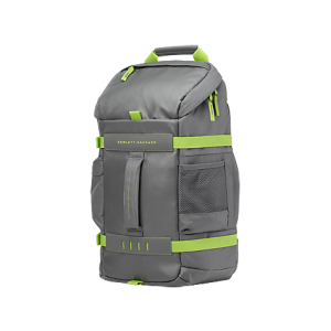 HP 15.6 Inch Black / Gray / Green / Blue Odyssey Backpack