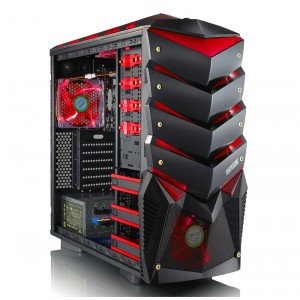 DELUX SH891 HIGH PERFORMANCE GAMING CASING