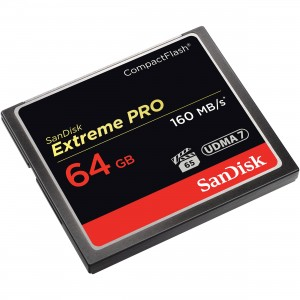 SDCFXPS-064G-X46# SanDisk Compact Flash Card 64 GB EXTREME PR