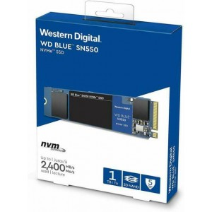 WD 1TB M.2 NVMe SOLID STATE DRIVE SN550 (BLUE) # WDS100T2B0C