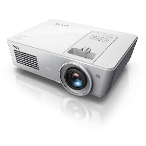 BENQ SX765 Projector to Use In Meeting Room and Class Room Intelligent SmartEco Mode for 6000 hrs Lamp Life, 6000 Lumens Brightness XGA 1024 x 768 Resolution and Contrast Ratio 10000:1, HDMI VGA LAN and USB Universel Connectivity, 2 Yr (Lamp 1 Yr/1000 hr)