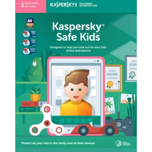 Kaspersky Safe Kids (1 Parent Account | 1 Year License | PC / Mac / Mobile)